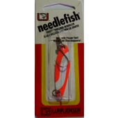 Luhr Jensen Needlefish (fire/white/stripe 3,5g