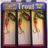 Mepps  Hot Trout Pocket Pac schwarz