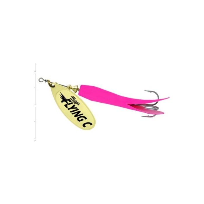 Mepps Flying C 25g (Hot Pink/Gold)