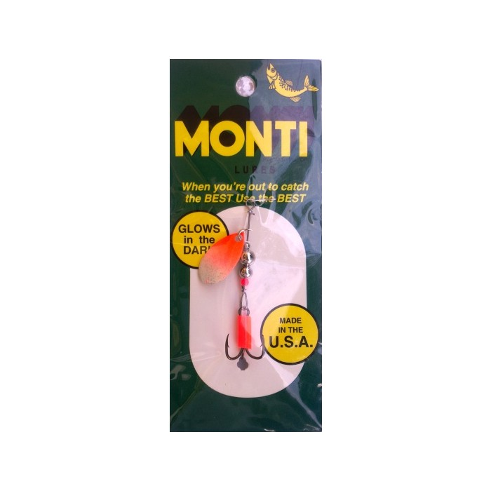 Monti Spinner Red White 1.77g